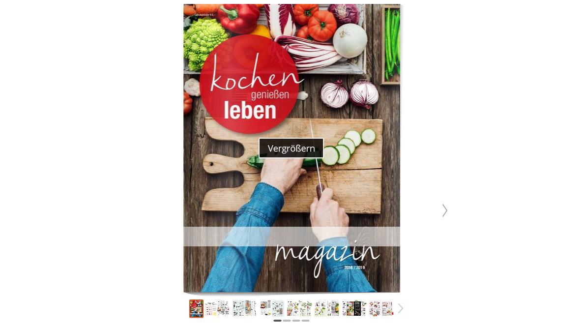 kochen, genießen, leben – Magazin 2018/2019